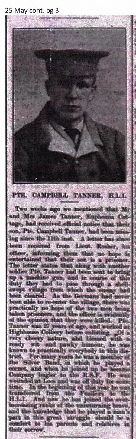 Pte. Campbell Tanner