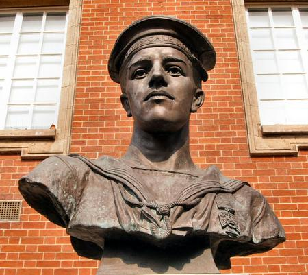 Statue in Walsall