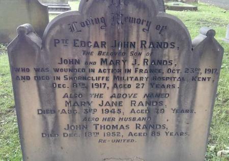 Profile picture for Edgar John Rands