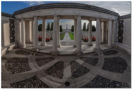 Tyne Cot Memorial, West-Vlaanderen, Belgium - 1