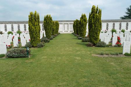 Tyne Cot Memorial, West-Vlaanderen, Belgium - 4