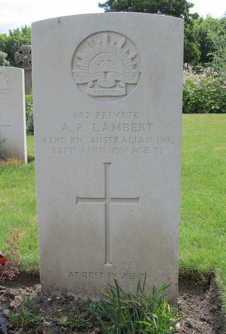 Profile picture for Arthur Robert Lambert