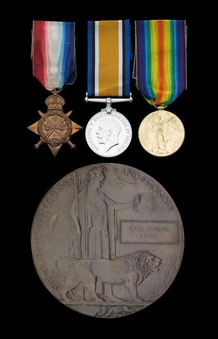 Medals of Staff Nurse K. R. Sturt, sold by Bonhams