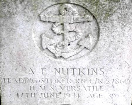 Profile picture for Albert Ernest Nutkins