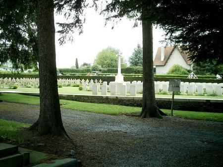 Avesnes-Sur-Helpe Communal Cemetery, France