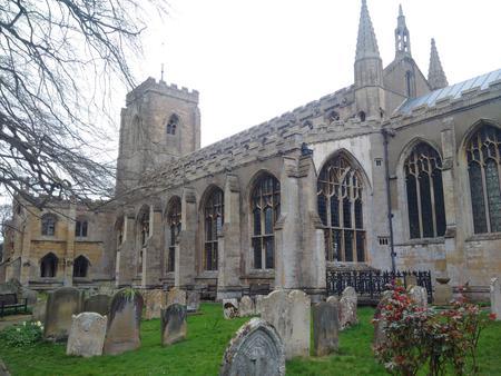 Exterior of Walpole St Peter church
