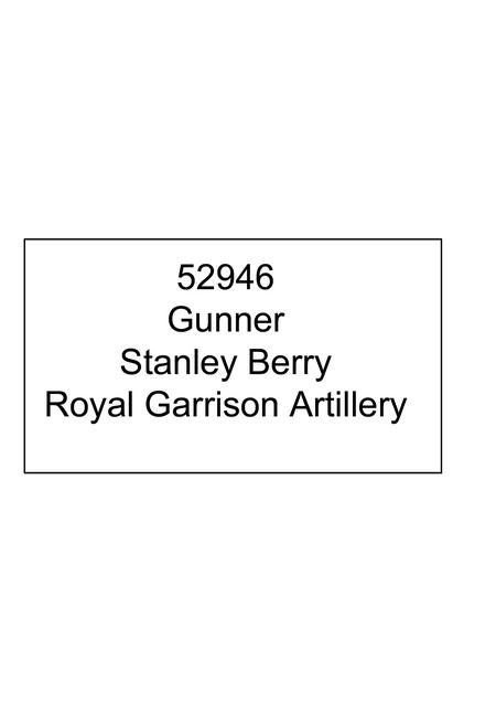 Profile picture for Stanley Berry
