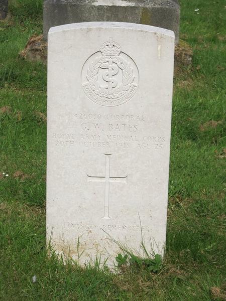 Profile picture for George William Bates