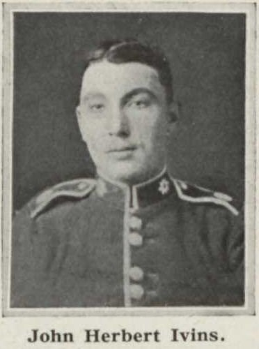Profile picture for Lance Corporal John Herbert Ivins