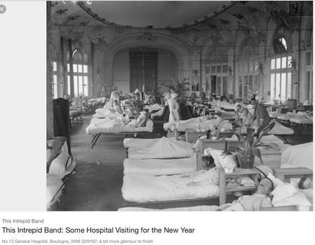 Army Base Hospital No. 13. Boulogne General.