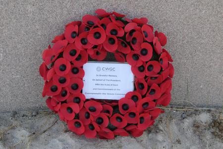 CWGC Wreath