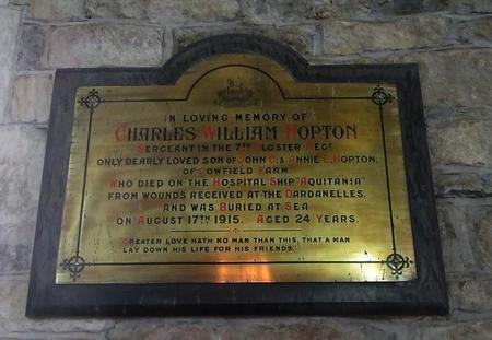 Profile picture for Charles William Hopton
