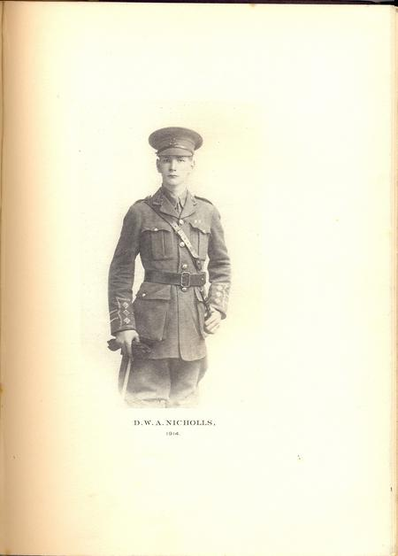Profile picture for Douglas William Arthur Nicholls