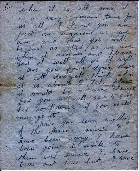 letter page 2 05.08.1916