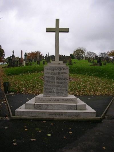 Rawtenstall Cemetery - Municipal War Memorial