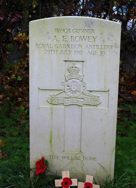 Profile picture for Albert Edward Bowey