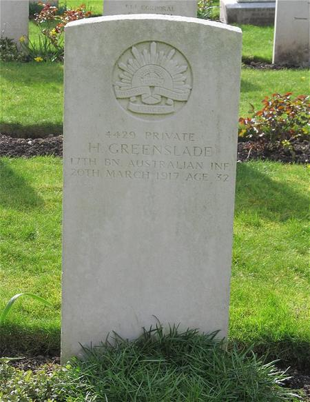 Profile picture for Harold Greenslade