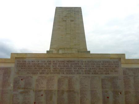 Lone Pine Memorial, Gallipoli