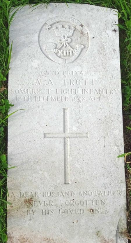 Profile picture for Alfred Arthur Trott