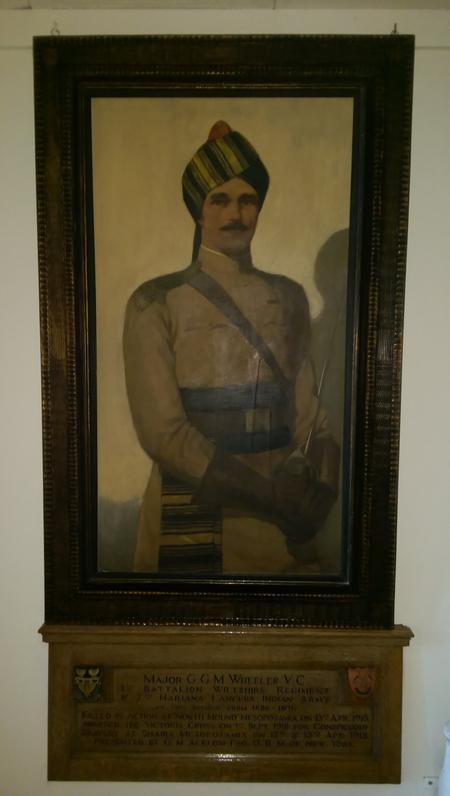 Portrait of Major G Wheeler VC