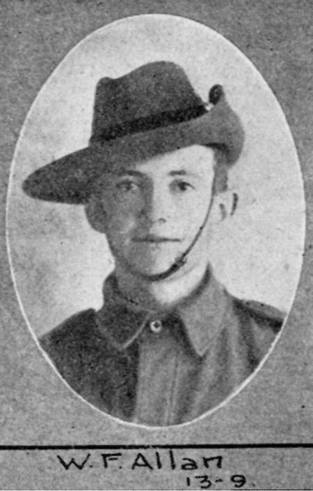 Profile picture for William 'bille' Fife Allan