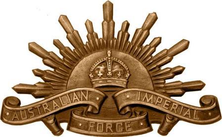 AIF cap badge