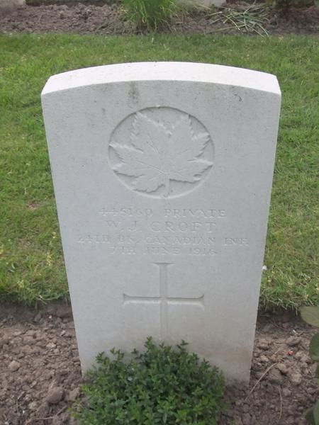 Profile picture for William John Croft