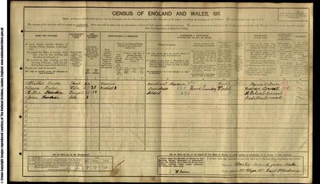 1911 East Stonehouse census