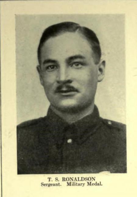 Profile picture for Thomas Shirreff Ronaldson