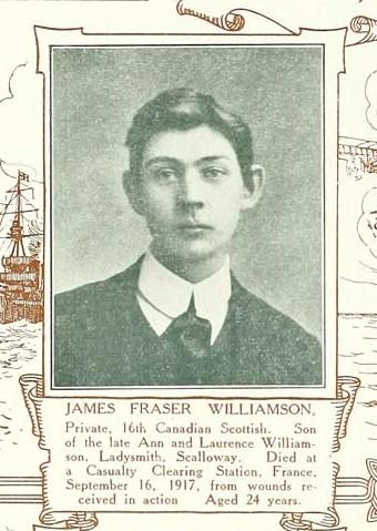 Profile picture for James Fraser Williamson