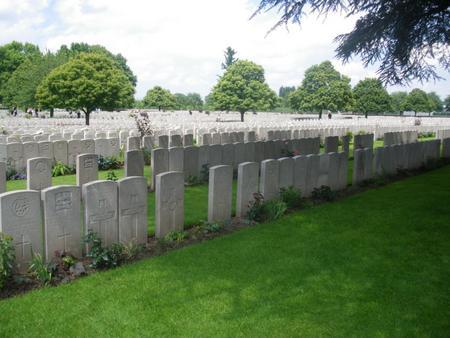 Lijssenthoek Cemetery from CWGC