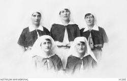 Sister Margaret Brodie Waterstrom in group photo.