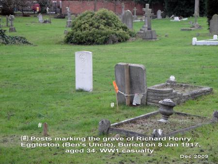 Resting place of Richard Henry Eggleston
