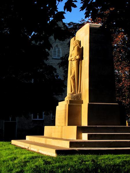 Cenotaph in Galt, Cambridge Ontario