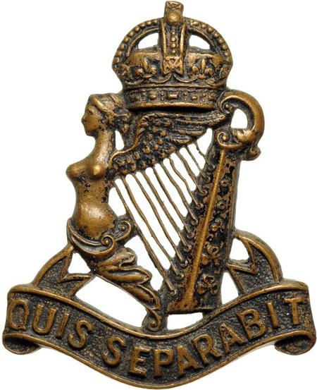 Royal Irish Rifles Cap Badge