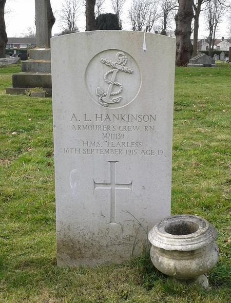 Profile picture for Alfred Leonard Hankinson