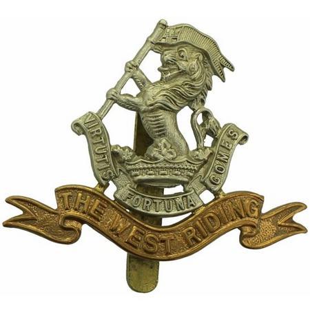 West Riding Regiment Cap Badge