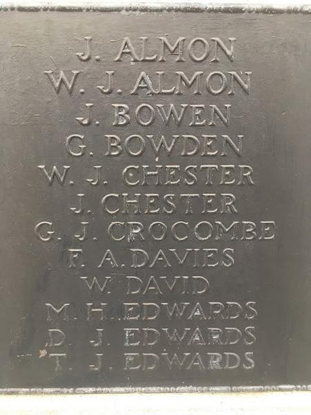 Kenfig Hill War Memorial