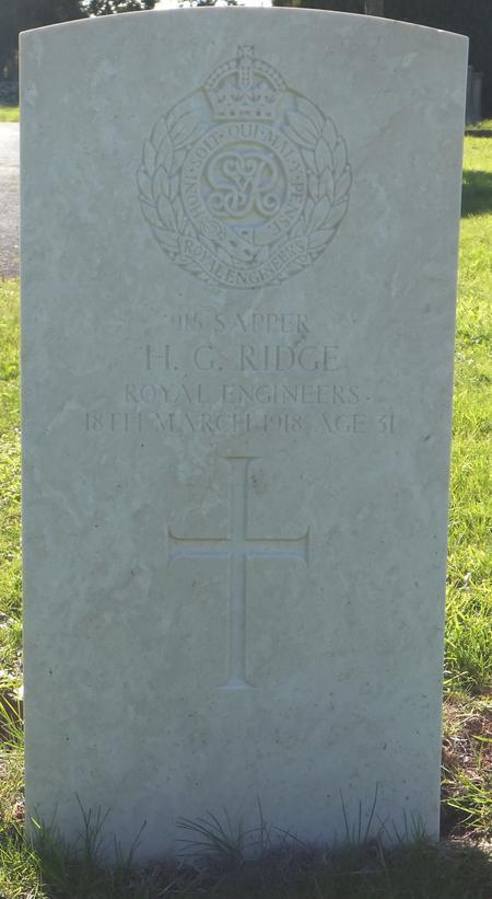 Profile picture for Herbert Gladstone Ridge