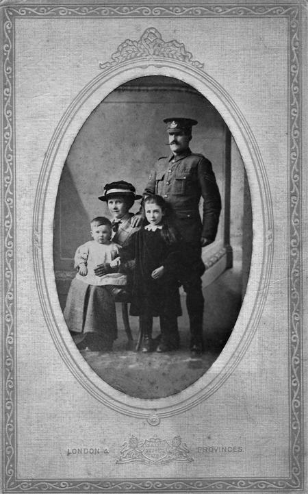 Serjeant William BAGSHAW and family