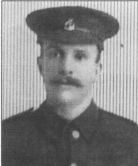 Private William George Slater RAMC