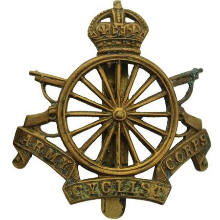 Army Cyclists Corps Cap Badge