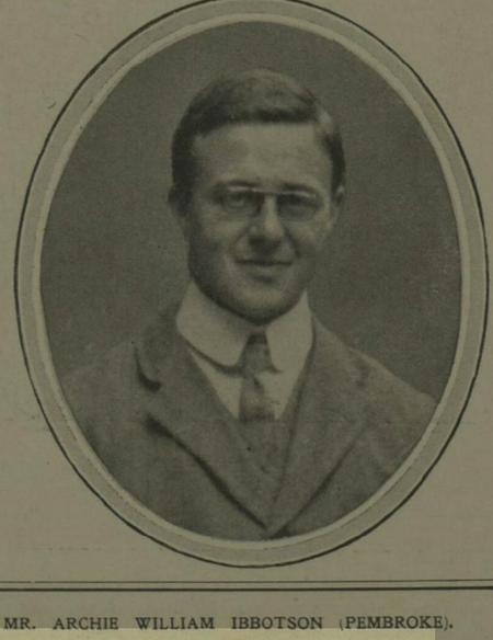 Profile picture for Archie William Ibbotson