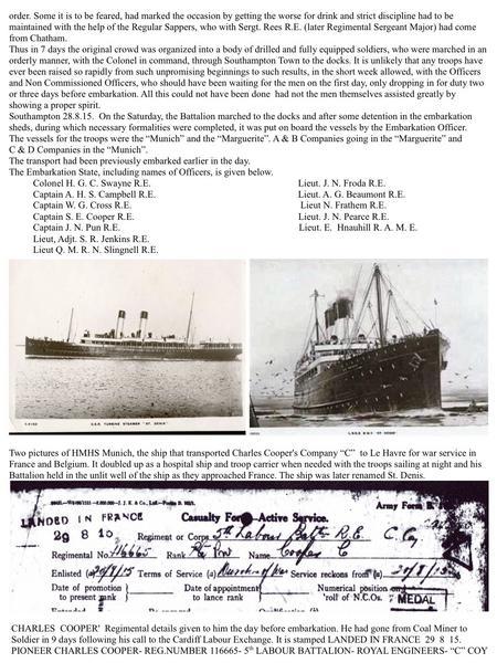 War Diary. Southampton Common Military Res. prt.7.