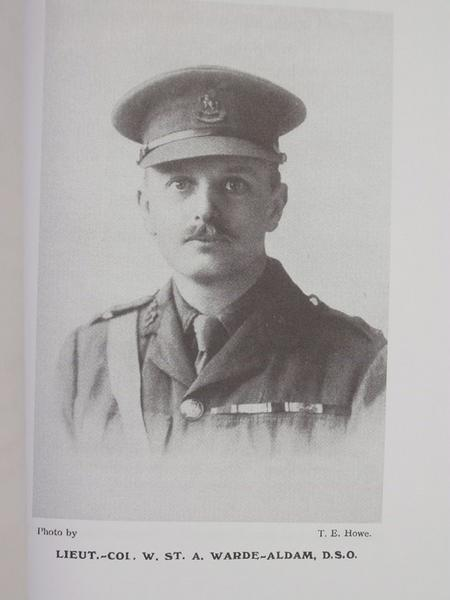 Lt Col W Warde-Aldam DSO