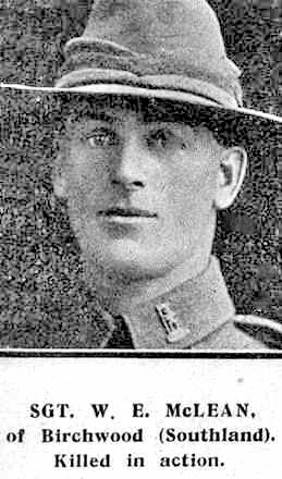 Profile picture for Wilfred Ernest Mclean