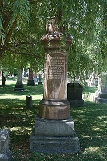 Francis Quigley's Grave