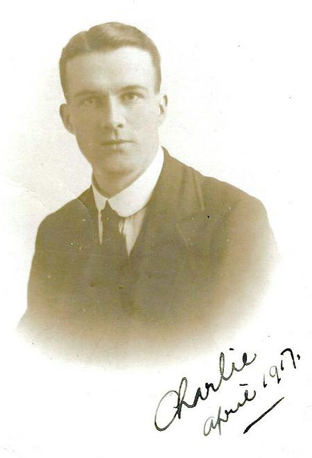 Charles Cairns at time of marriage
