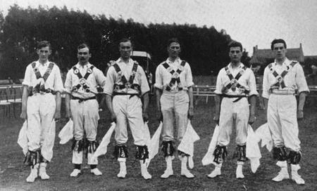 The EFDS's First Men's Morris Side c1911