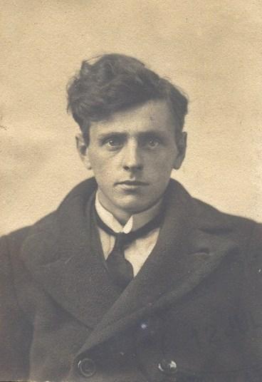 William Herbert Harland in July 1918